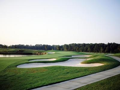 World Golf Village, The King and Bear Golf Course bunker
