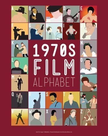1970s Film Alphabet - A to Z