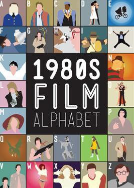 1980s Film Alphabet - A to Z by Stephen Wildish