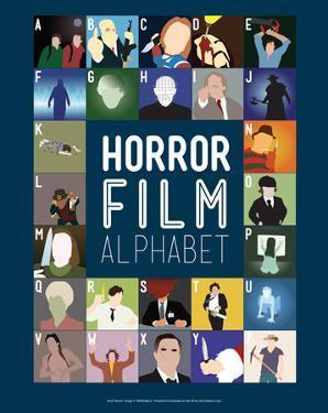 Horror Film Alphabet - A to Z by Stephen Wildish