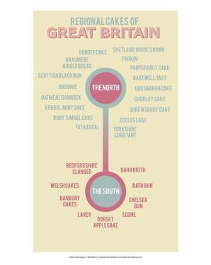 Regional Cakes of Great Britain by Stephen Wildish