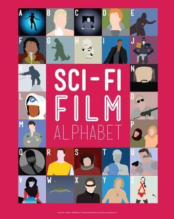 Sci-Fi Film Alphabet - A to Z