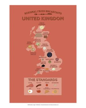 United Kingdom by Regional Fried Breakfasts by Stephen Wildish