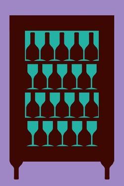 Drinks Fridge Optical Illusion, Artwork by Stephen Wood