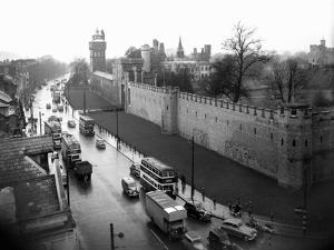 Cardiff Castle, 15th February 1955 by Stephens