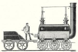 Stephenson's Endless Chain Locomotive