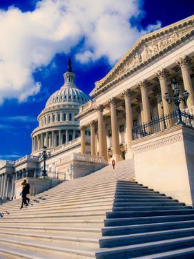 Steps to Senate Chambers at US Capitol Building, Washington DC, USA