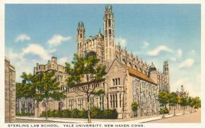 Sterling Law School, Yale, New Haven, Connecticut