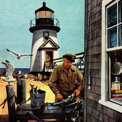 """""""Lighthouse Keeper"""", June 26, 1954"""