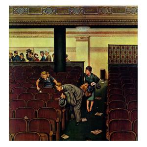 """Lost Shoe,"" December 14, 1946 by Stevan Dohanos"