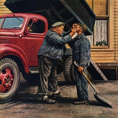 """Speck of Coal,"" October 18, 1947 by Stevan Dohanos"