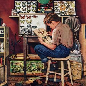 """""""The Collector"""", August 11, 1951 by Stevan Dohanos"""