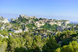 Les Baux De Provence Village and Castle. France, Europe. by stevanzz
