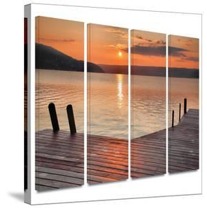 Another Kekua Sunrise 4 piece gallery-wrapped canvas by Steve Ainsworth