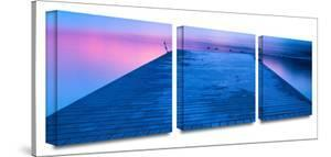 Waiting for Dawn 3-Piece Canvas Set by Steve Ainsworth