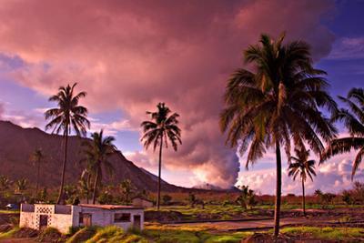 Tavurvur, 2,257 Feet, Stratovolcano Associated with Rabaul Volcano