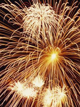 Fireworks Display by Steve Bavister