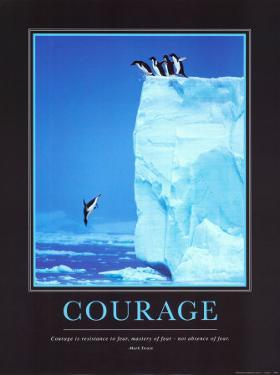 Courage By Steve Bloom