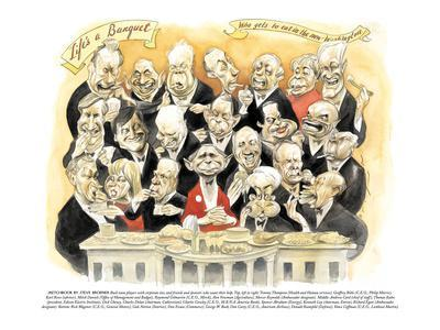 Life's a Banquet'-'Who gets to eat in the new Washington' - New Yorker Cartoon