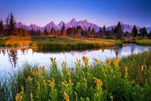 Teton Sunrise by Steve Burns