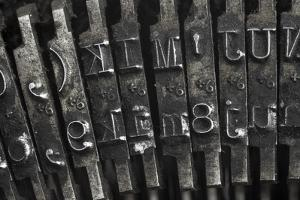 Old Typewriter Type by Steve Collender