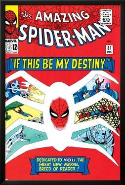 Amazing Spider-Man No.31 Cover: Spider-Man by Steve Ditko