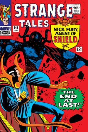 Strange Tales No.146 Cover: Dr. Strange and Eternity by Steve Ditko