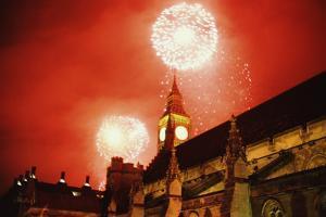 Millenium Fireworks by Steve Eason