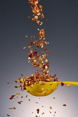 1 Tablespoon Red Pepper Flakes by Steve Gadomski