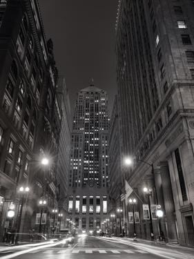 Chicago Board of Trade B W by Steve Gadomski