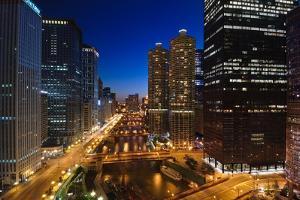 Chicago River Bend by Steve Gadomski