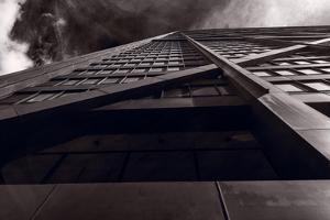 Chicago Structure BW by Steve Gadomski