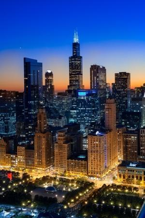 City Light Chicago by Steve Gadomski
