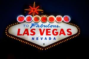 Fabulous Las Vegas Sign by Steve Gadomski