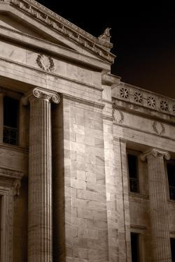 Field Museum of Chicago BW Number 2 by Steve Gadomski