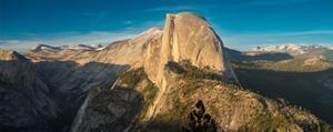 Half Dome Sunset by Steve Gadomski