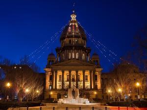 Illinois State Capitol by Steve Gadomski