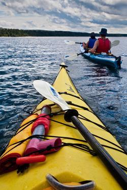 Kayaking Lake Superior by Steve Gadomski