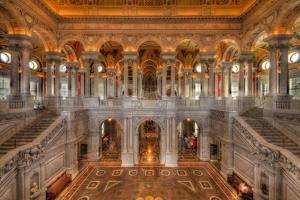 Library Of Congress by Steve Gadomski