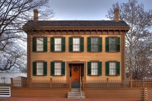 Lincoln Home Springfield Illinois by Steve Gadomski