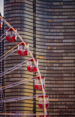 Navy Pier Wheel Chicago by Steve Gadomski