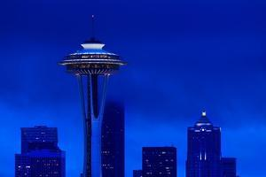 Space Needle Heights by Steve Gadomski