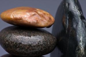 Stacked Stones 3 by Steve Gadomski