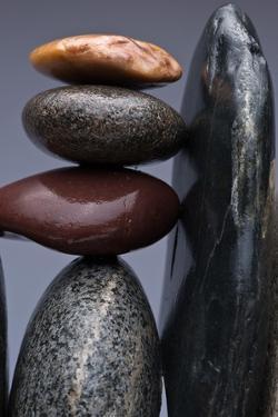 Stacked Stones 5 by Steve Gadomski