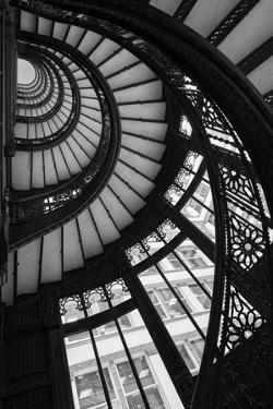 Stairwell The Rookery Chicago IL by Steve Gadomski