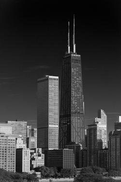 Streeterville Chicago Illinois BW by Steve Gadomski
