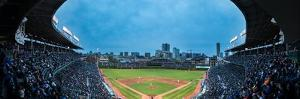 Wrigley Field Night Game Chicago by Steve Gadomski