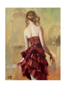 Girl in a Copper Dress 2 by Steve Henderson