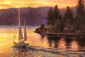 Sailing On The Sound by Steve Henderson