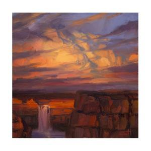 Thunder Cloud Over The Palouse by Steve Henderson